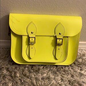 The Cambridge Satchel Company Neon Yellow